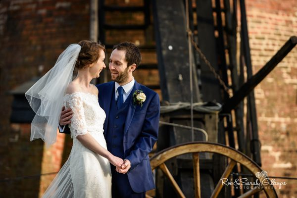 Beautiful wedding photography at Avoncroft Museum