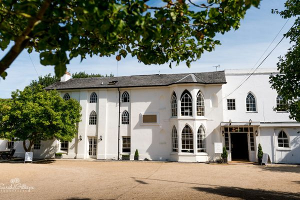 Front view of Warwick House in Southham - Warwickshire Wedding Venue