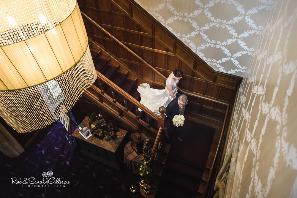 Civil wedding ceremony at Hampton Manor