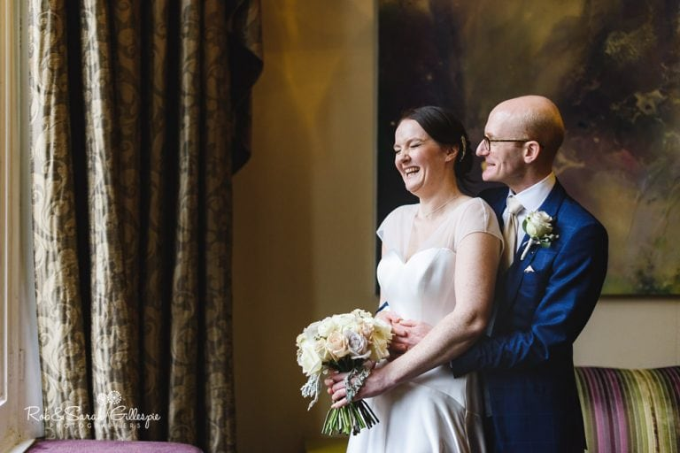 Natural wedding photography at Hampton Manor