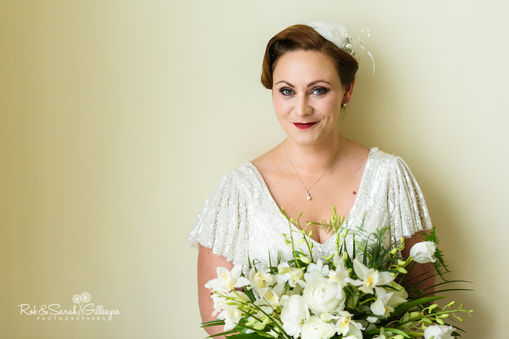 Portrait of bride at Birmingham Town Hall