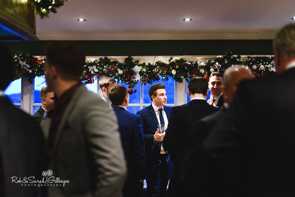 Wedding reception at The Boathouse Sutton Coldfield