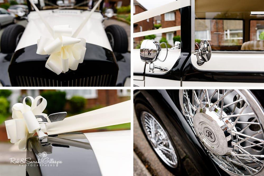 Details of wedding dcar
