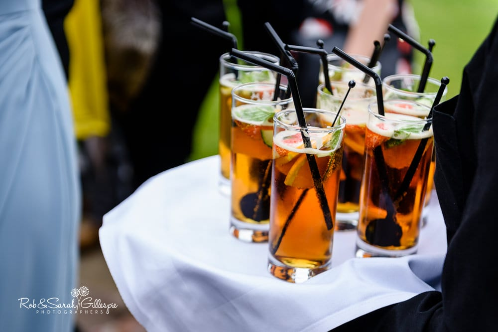 Alrewas Hayes wedding - drinks reception