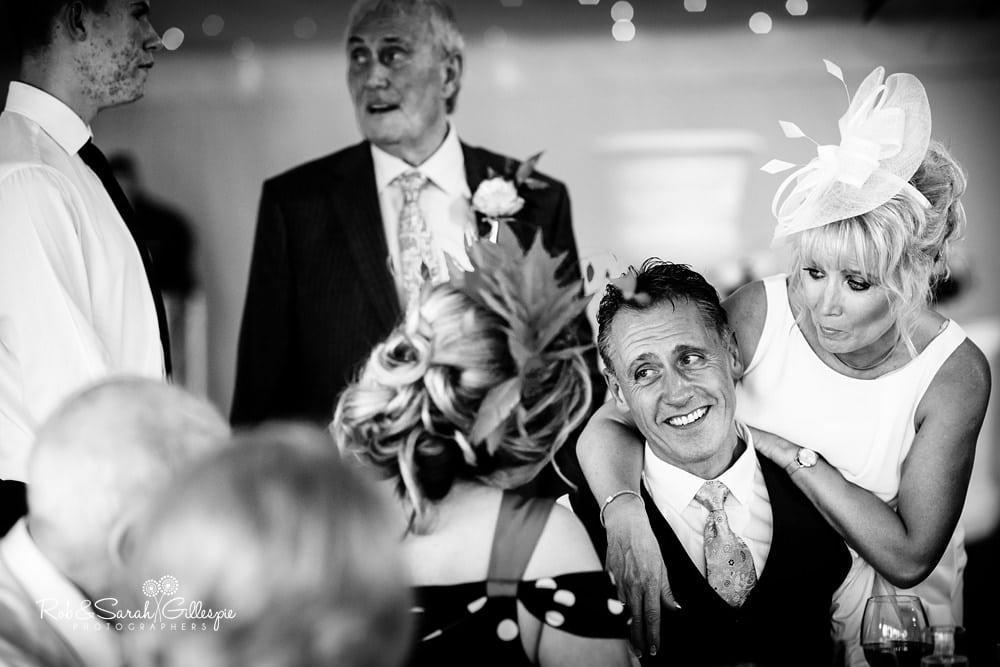 Wedding reception at Alrewas Hayes