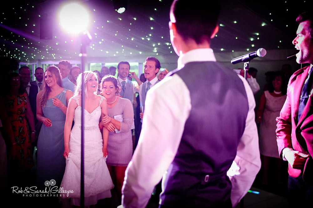 Wedding reception at Alrewas Hayes