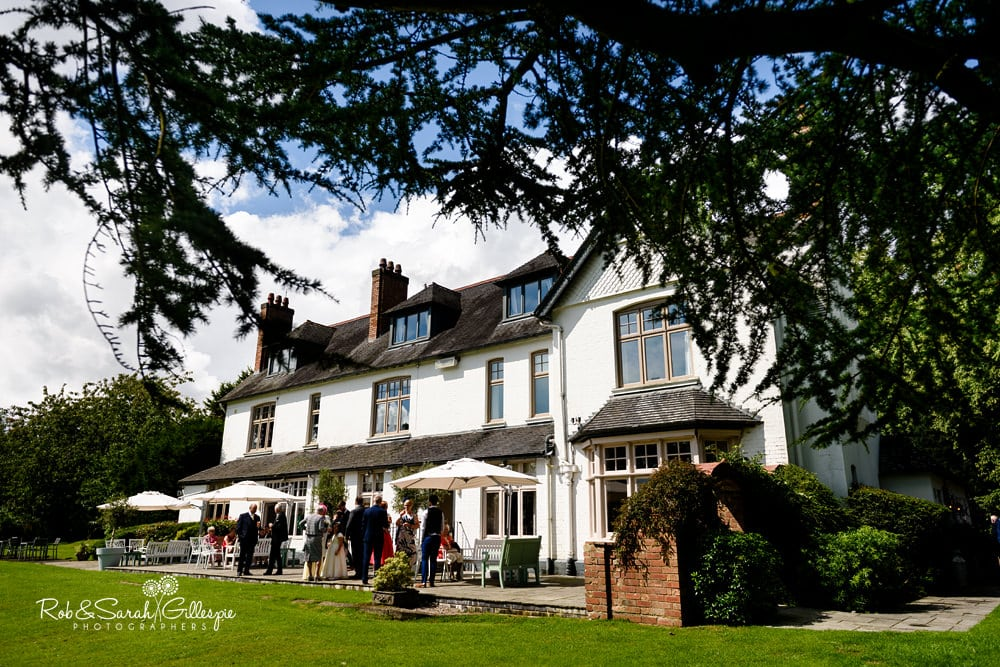 Wedding photography at Ashton Lodge Country House by Rob & Sarah Gillespie