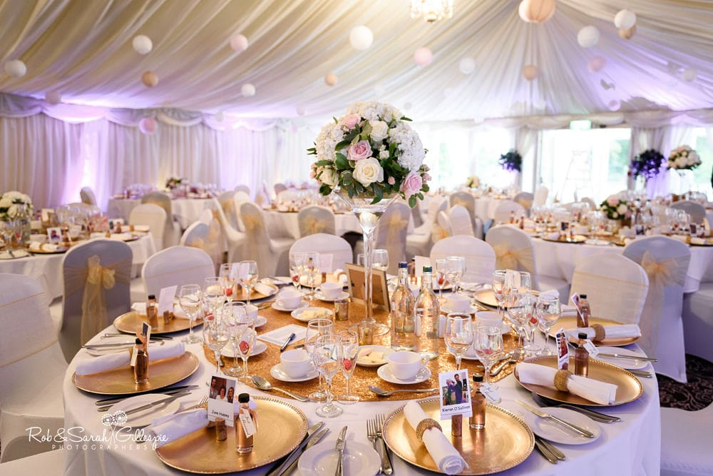 Wedding reception at New Hall Hotel