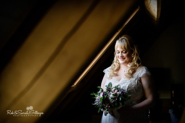 Bride portrait at Redhouse Barn