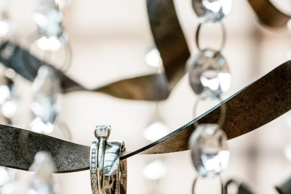 Wedding rings at |Redhouse Barn