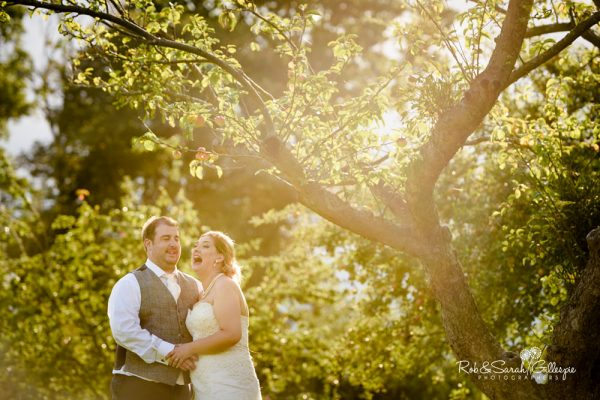 Wedding photography at Stanbrook Abbey