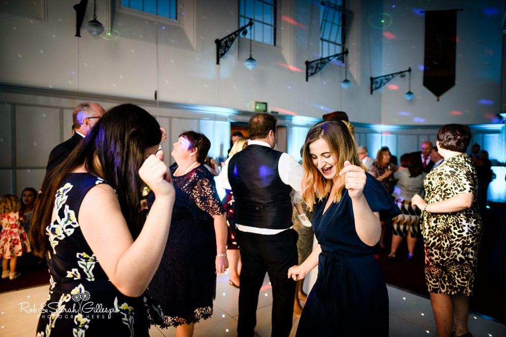 Stanbrook Abbey wedding evening reception