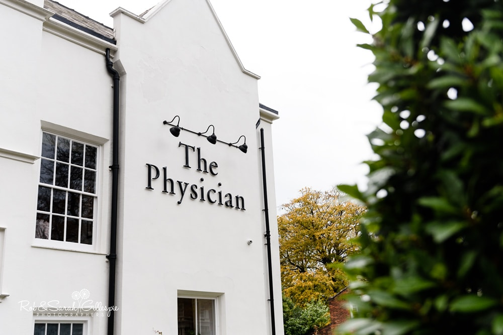 Exterior of The Physician pub in Birmingham