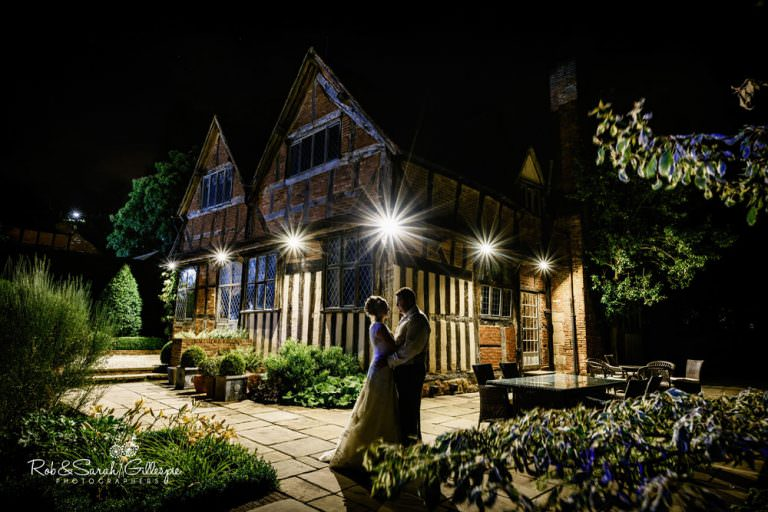 Wedding at Gorcott Hall in Warwickshire