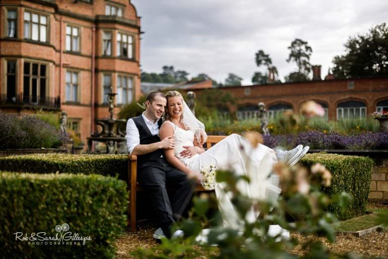 Wedding photos at Welcombe Hotel in Warwickshire