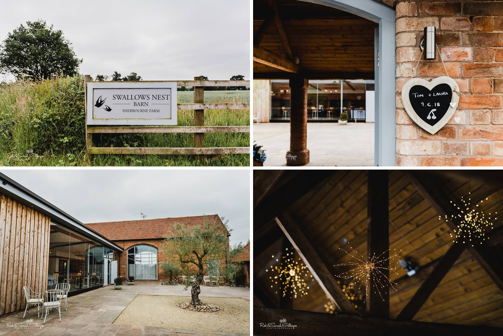Swallows Nest Barn Warwickshire wedding venue