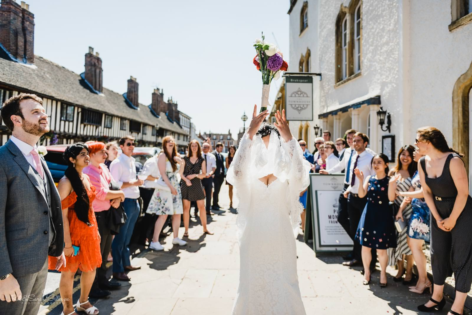 Wedding at The Townhouse in Stratford upon Avon