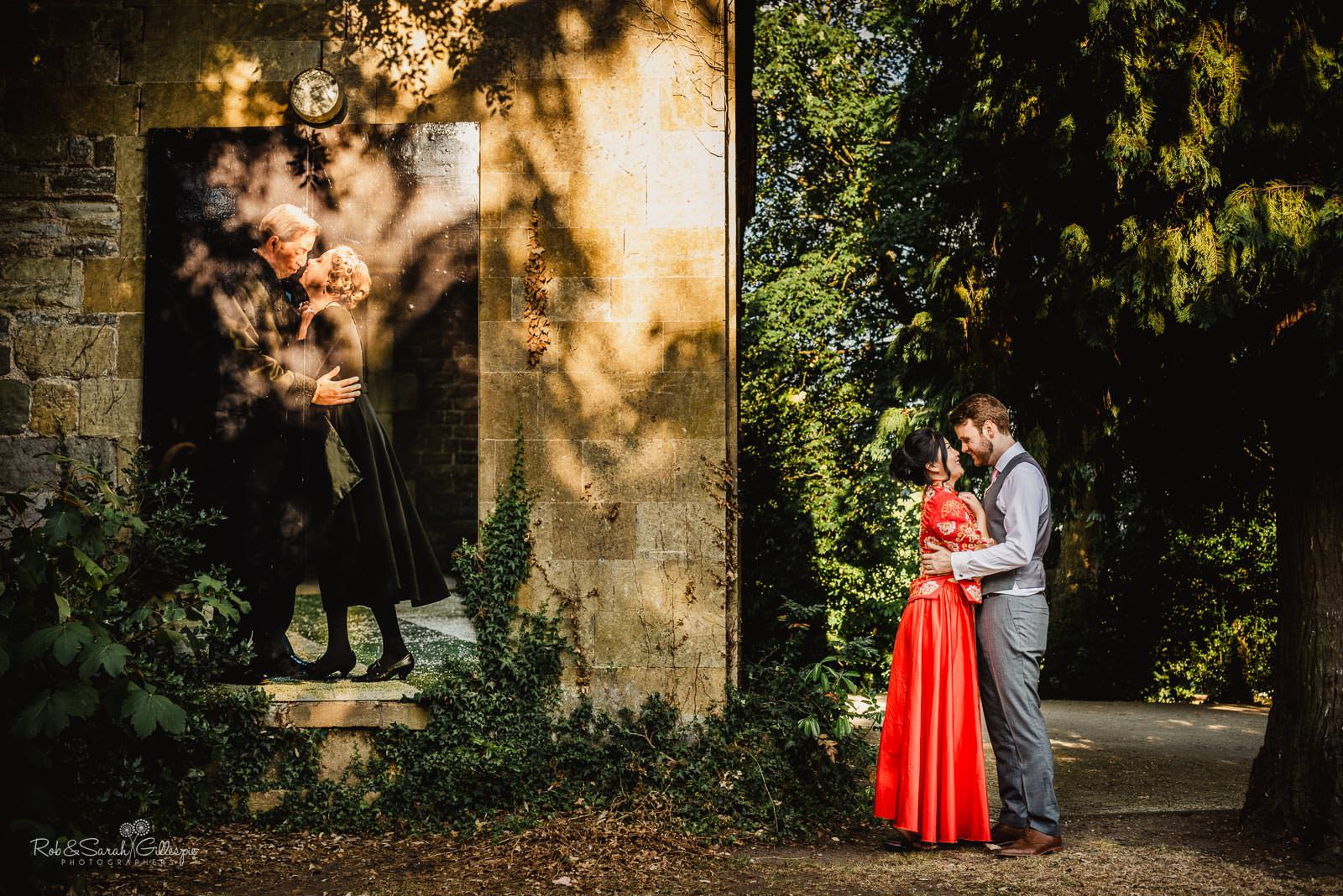 Natural wedding photogtraphy in Stratford upon Avon