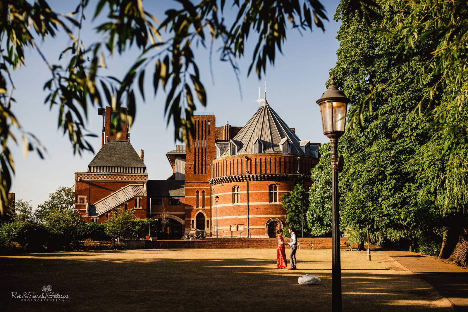 Wedding photography at RSC in Stratford upon Avon