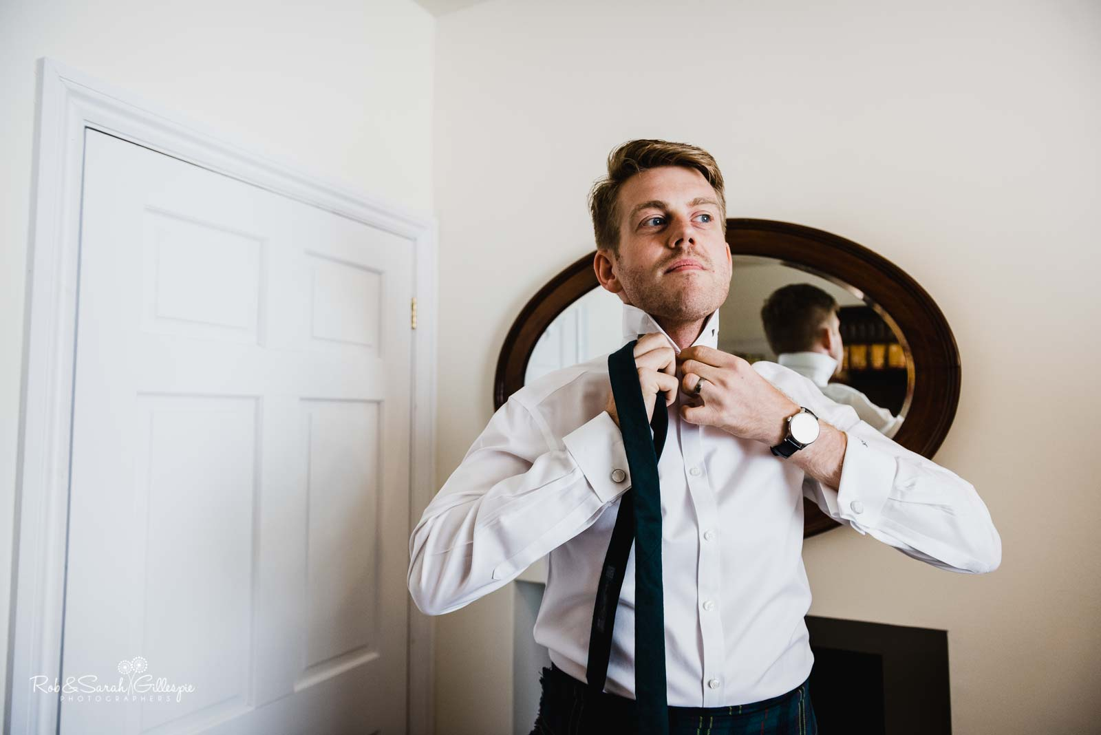Groosman prepares for wedding at Wethele Manor