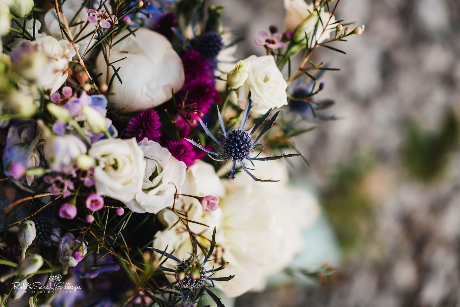 Wedding flowers at Wethele Manor