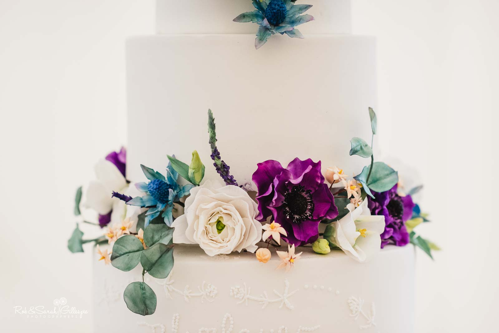 Wedding cake at Wethele Manor