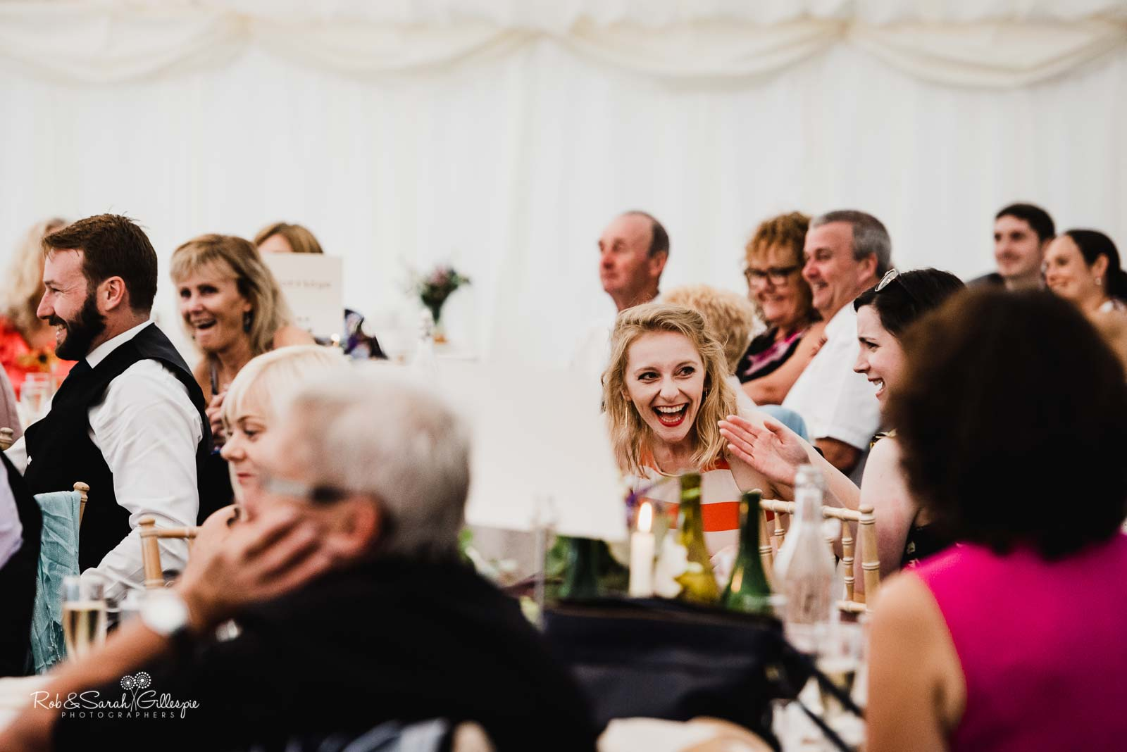 Wedding speeches at Wethele Manor