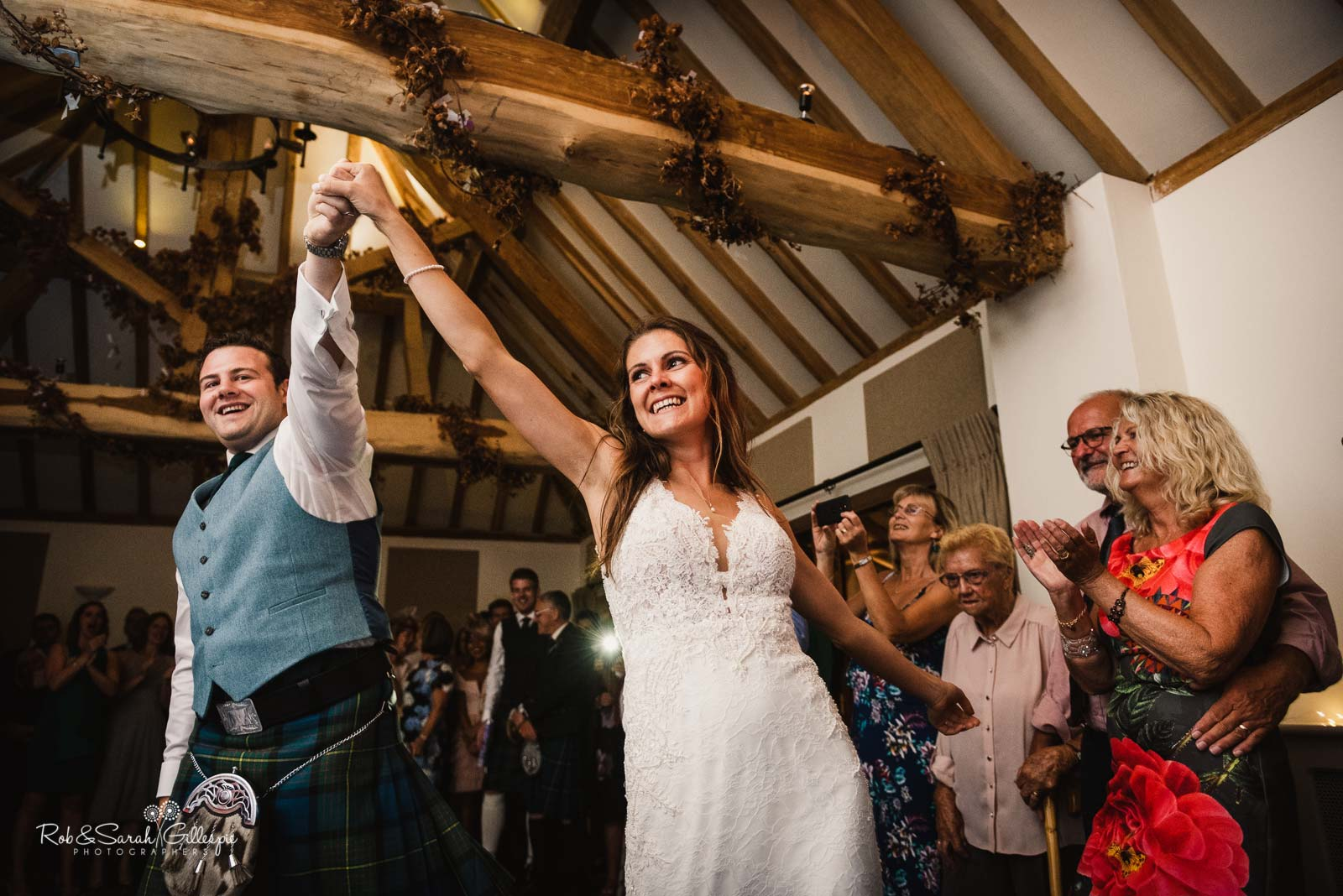 Bride and groom first dance at Wethele Manor