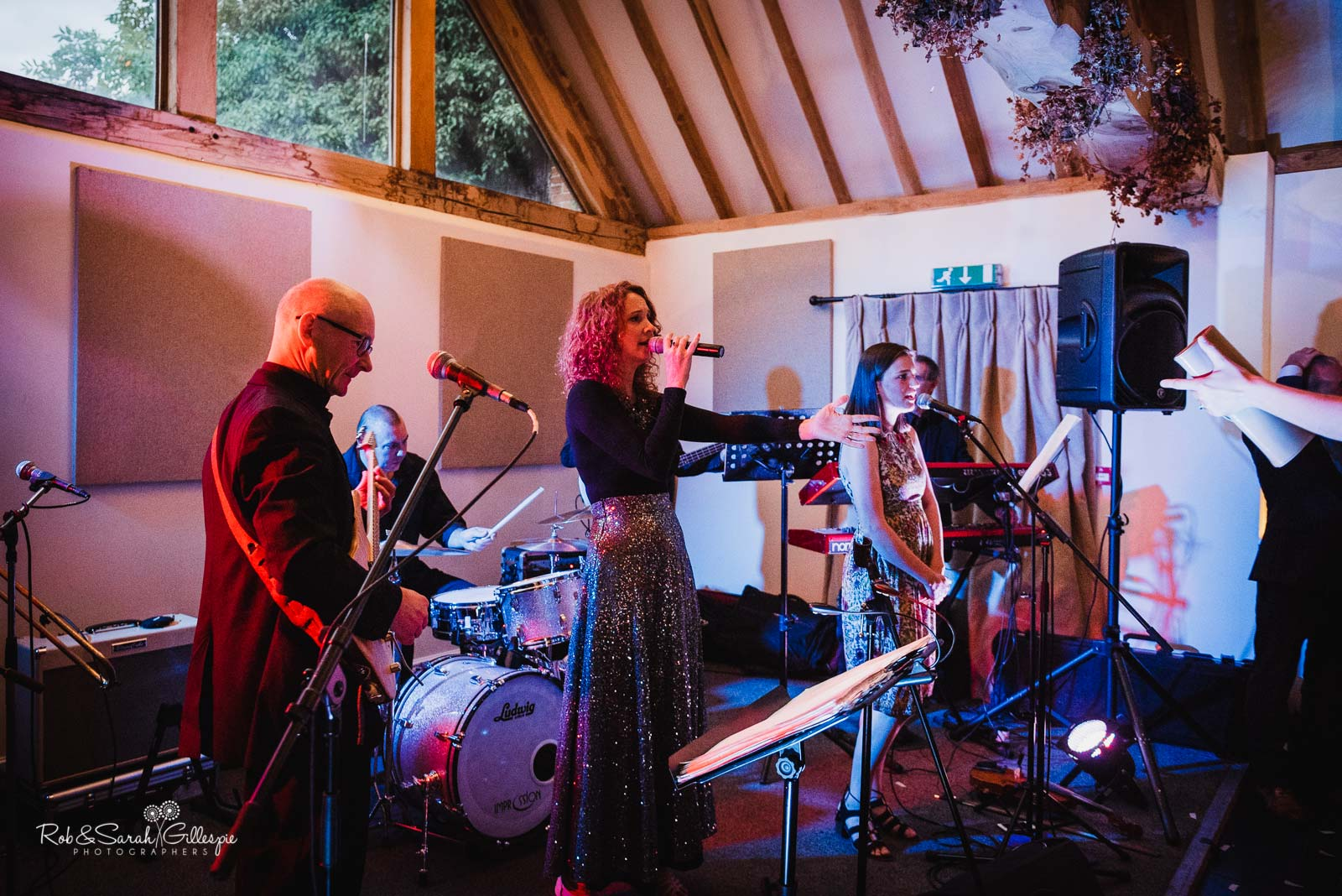 Ceilidh band at Wethele Manor wedding