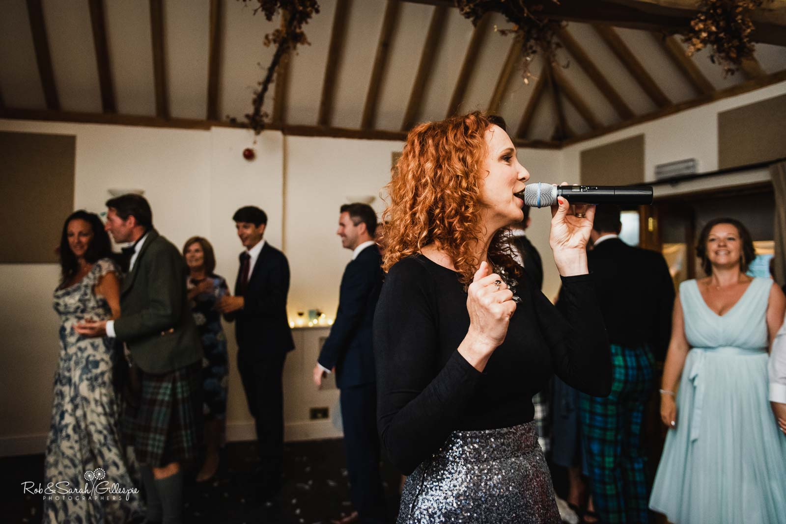Ceilidh at Wethele Manor wedding