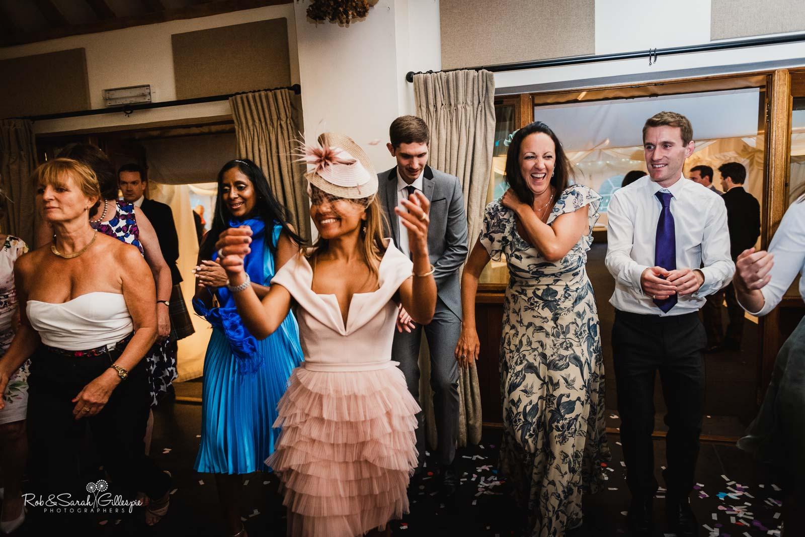 Ceilidh at Wethele Manor wedding