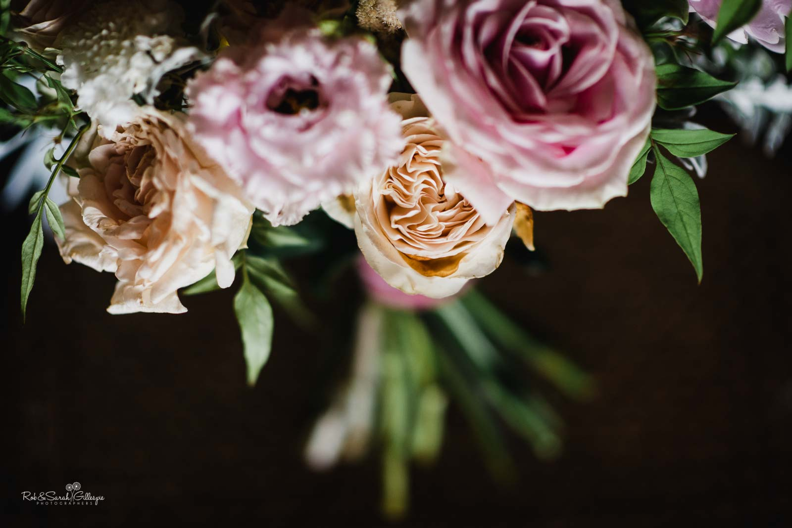 Wedding flowers at Hampton Manor