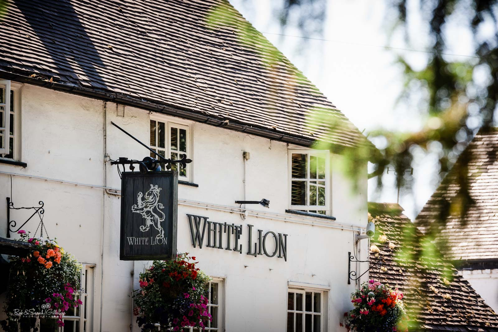 White Lion pub in Hampton in Arden