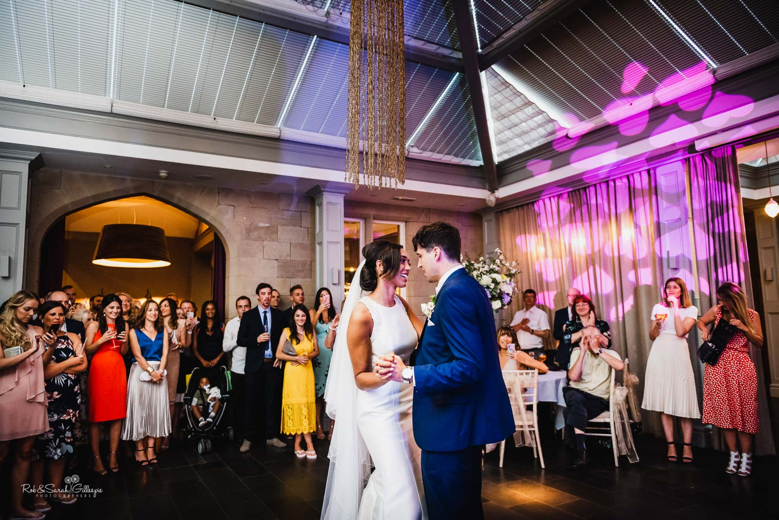 First dance at Hampton Manor wedding