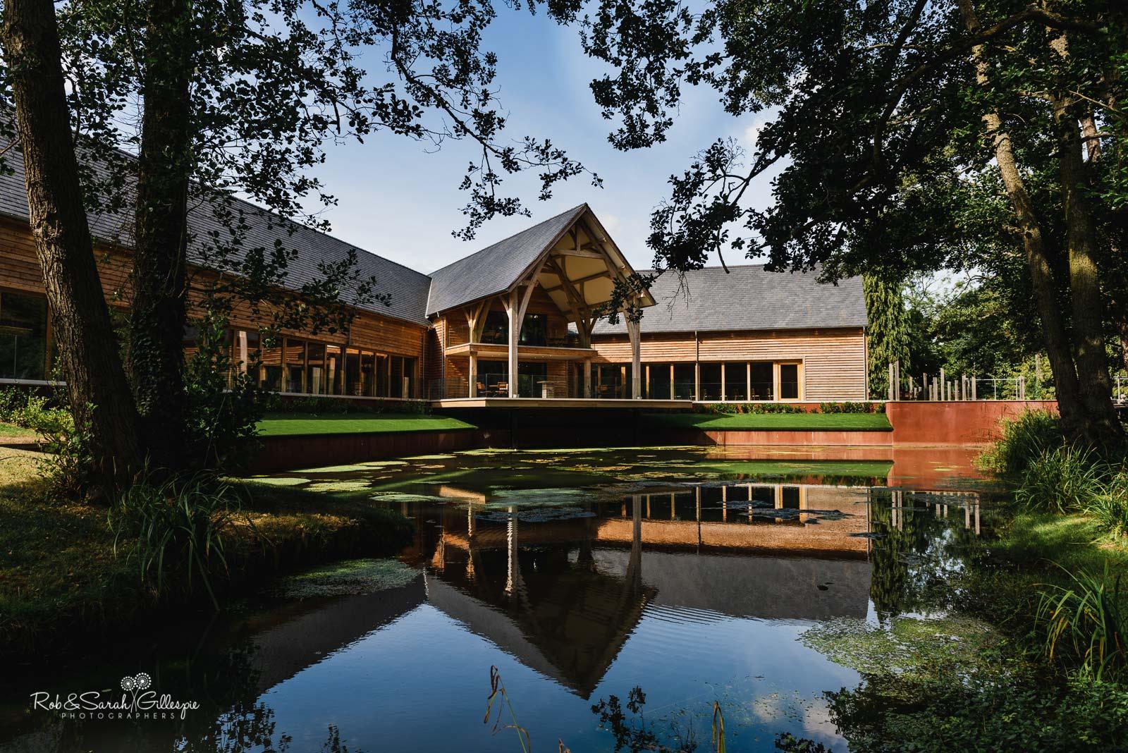 The Mill Barns wedding venue in Shropshire