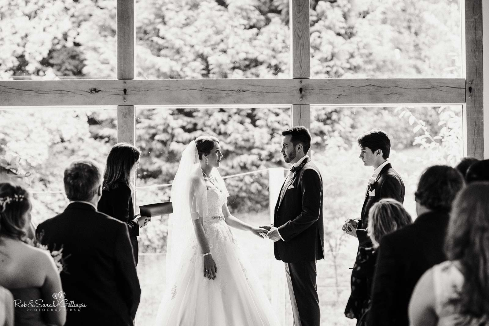 The Mill Barns wedding ceremony
