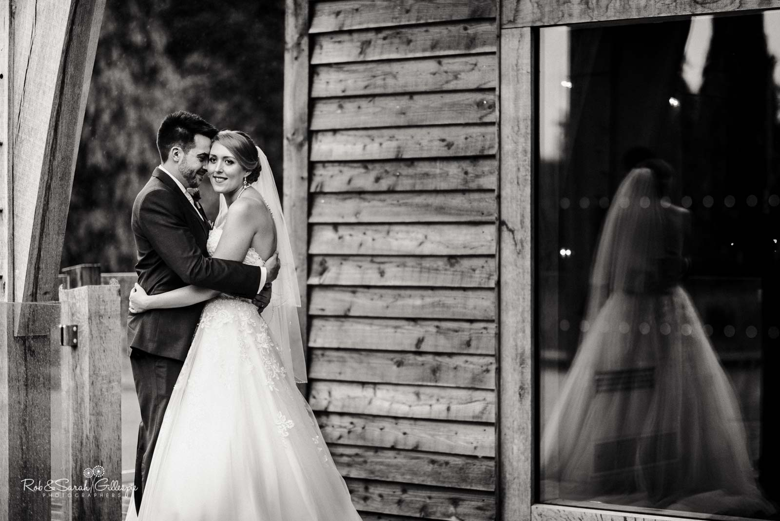 Relaxed couple photos at The Mill Barns wedding venue