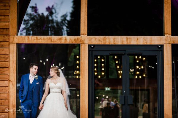 Relaxed and natural couple portraits at The Mill Barns wedding venue