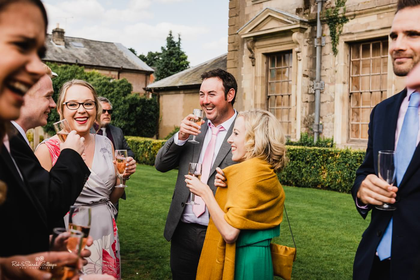 Natural and candid photos at Coombe Abbey wedding reception