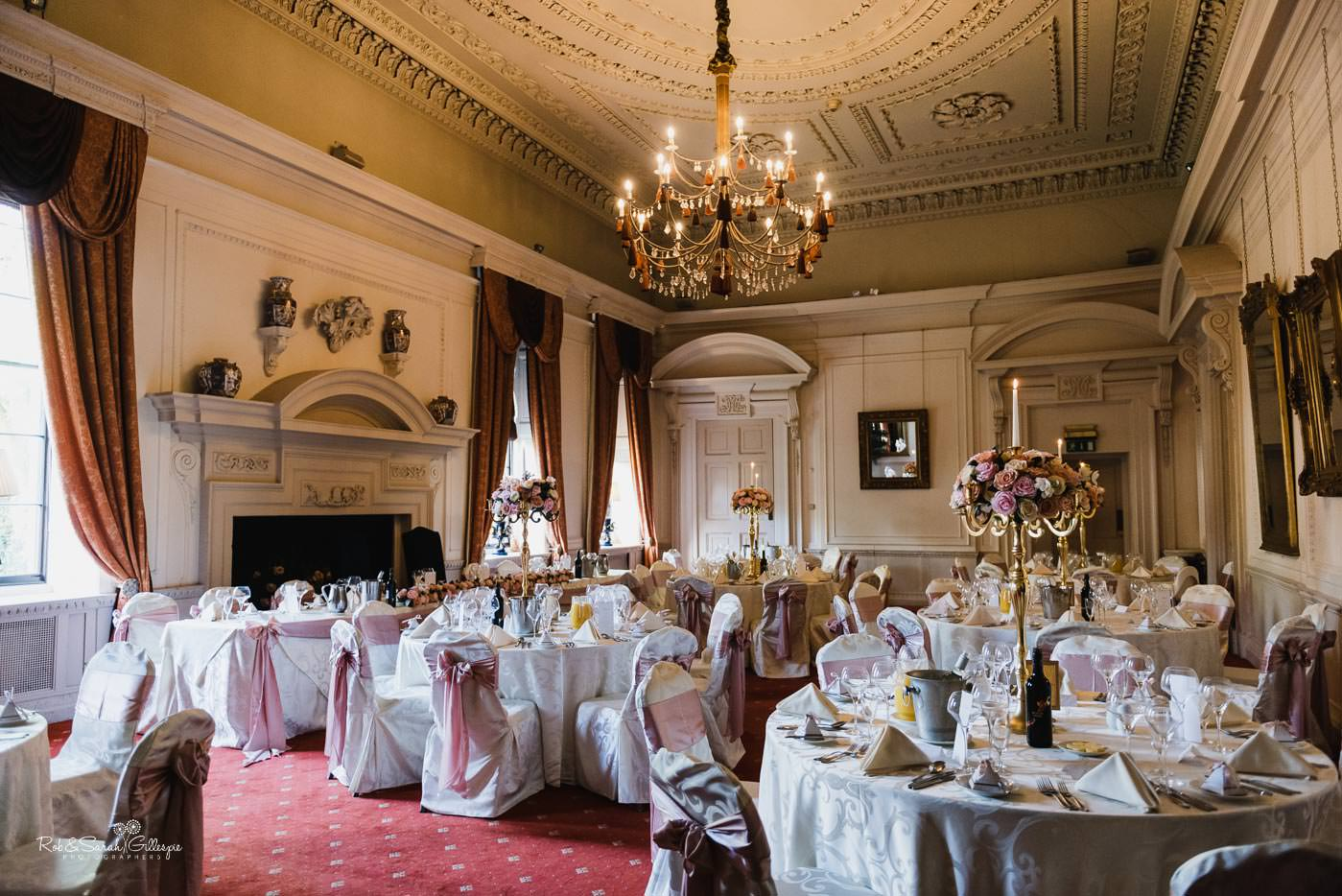 Wedding reception at Coombe Abbey