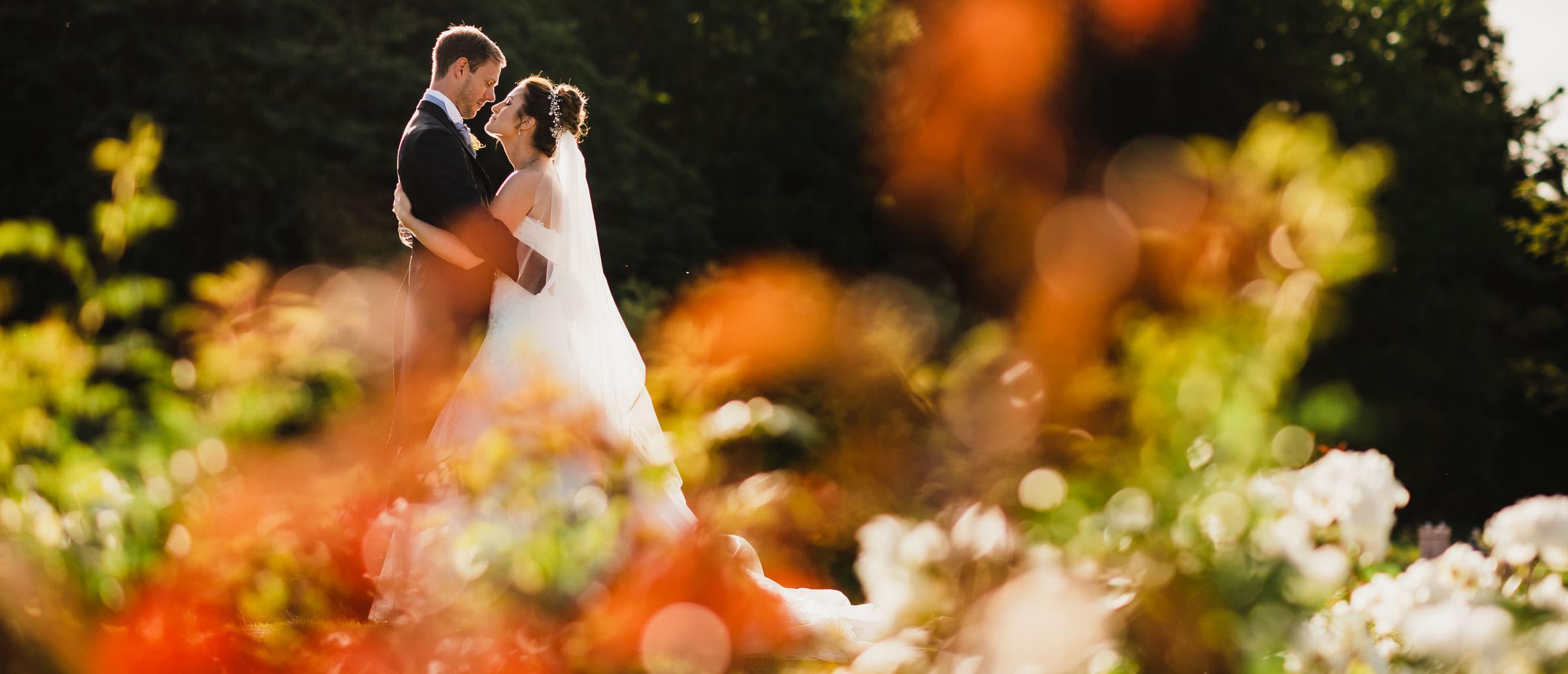 Beautiful wedding photography at Delbury Hall in Shropshire