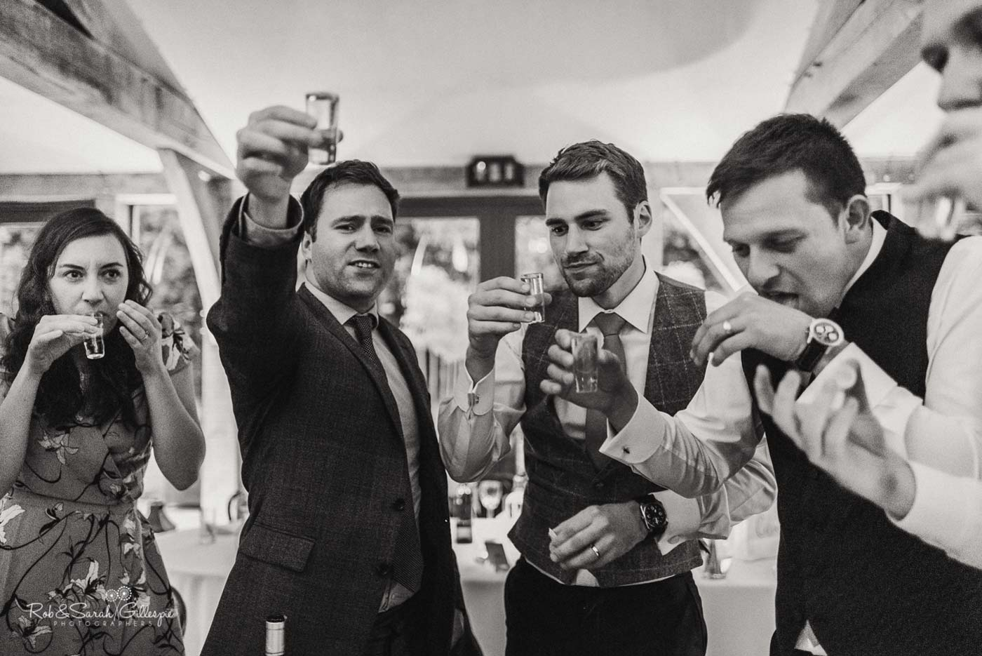 Shots at Hazel Gap Barn wedding