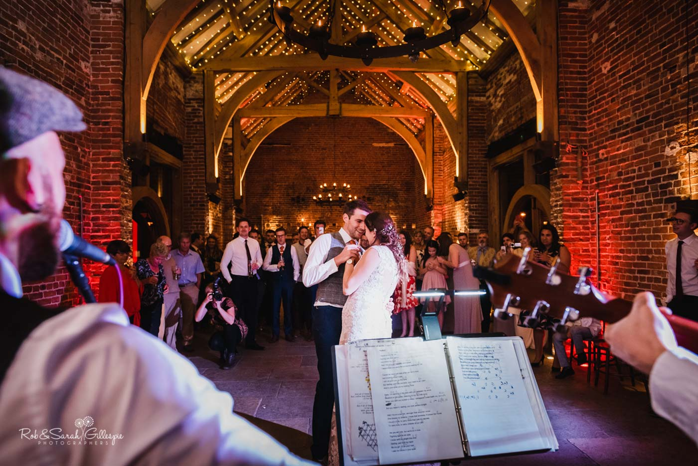 First dance at Hazel Gap Barn wedding