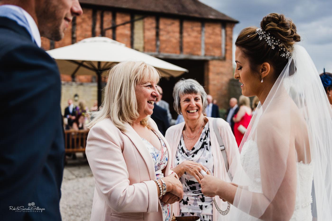 Wedding receptikon at Delbury Hall in Shropshire