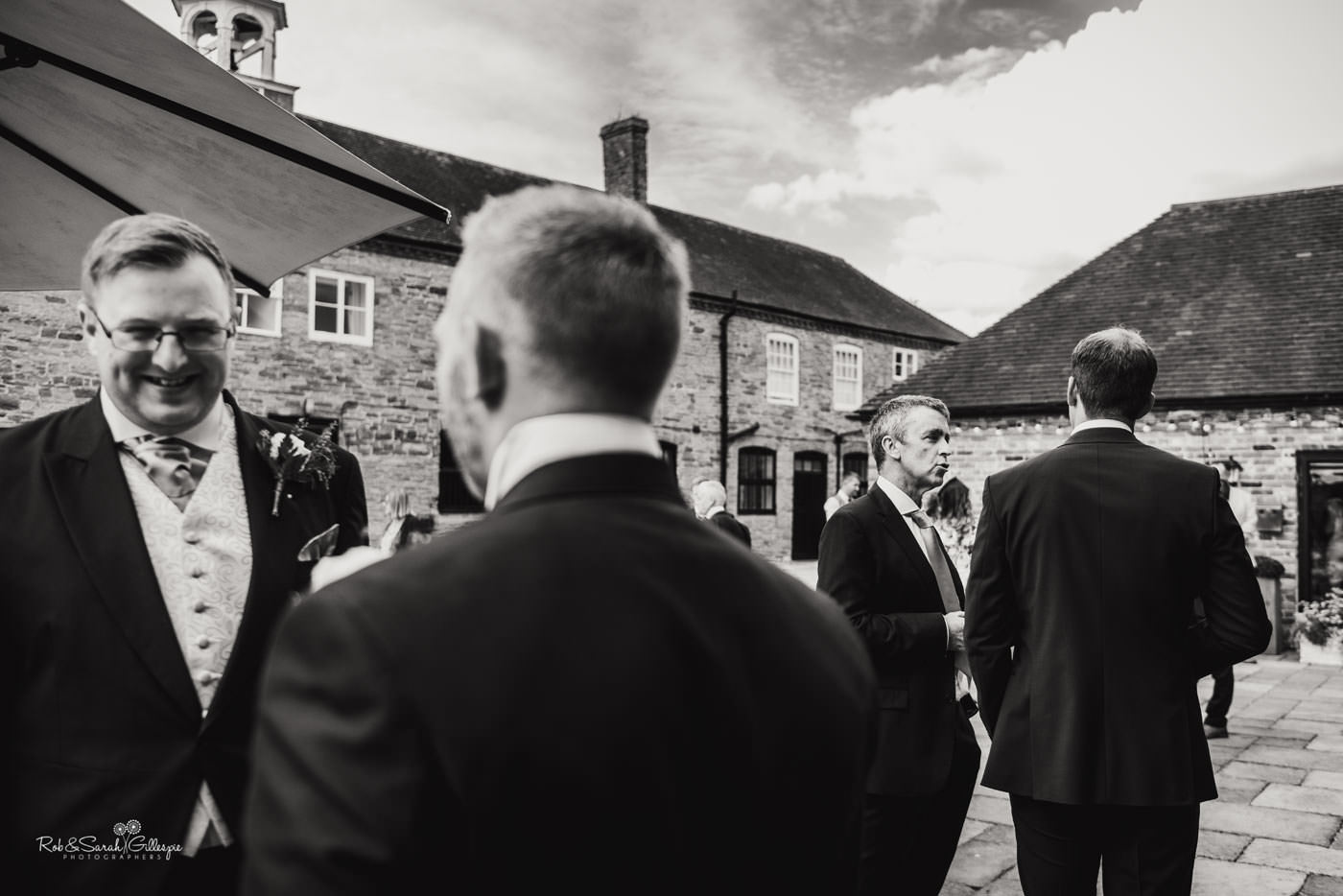 Wedding receptikon at Delbury Hall in Shropshire