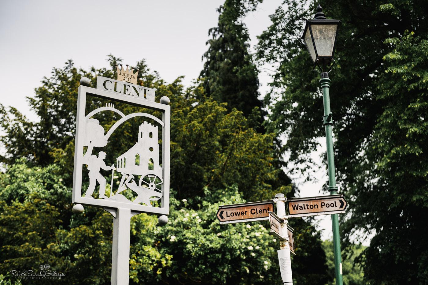 Clent village signs