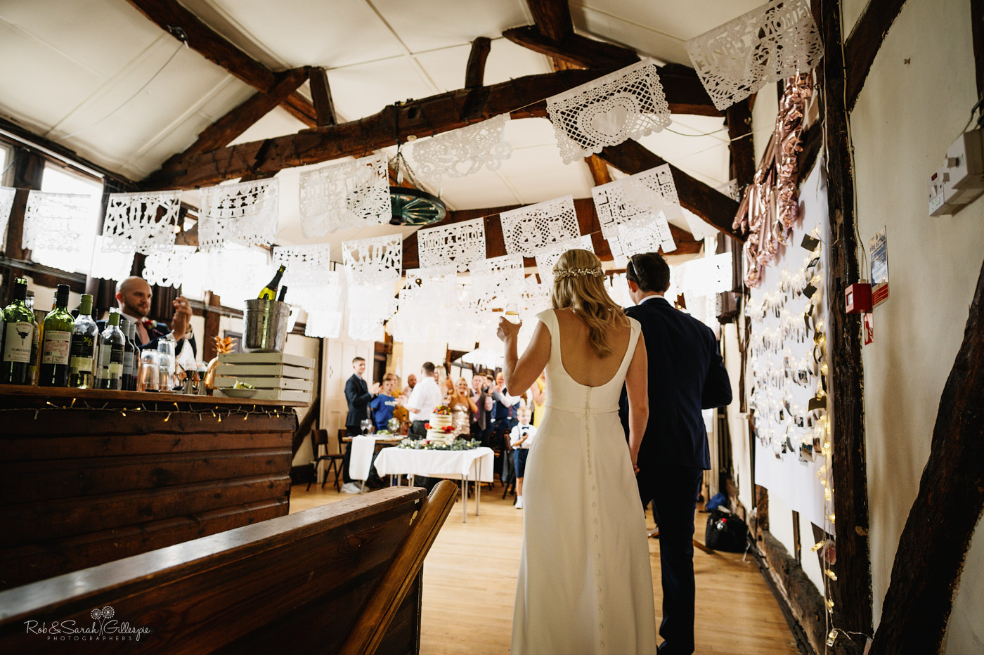 Belbroughton Church Hall wedding reception