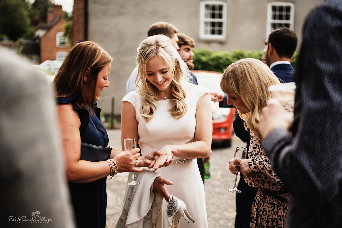 Wedding at Belbroughton Church Hall in Worcestershire