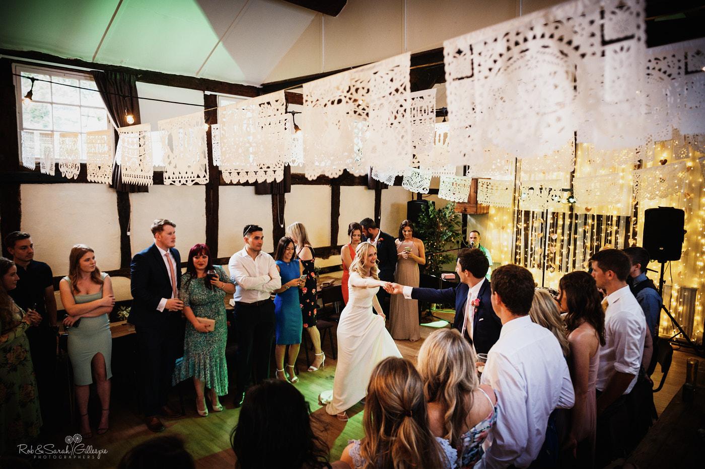 Belbroughton Church Hall wedding dancing