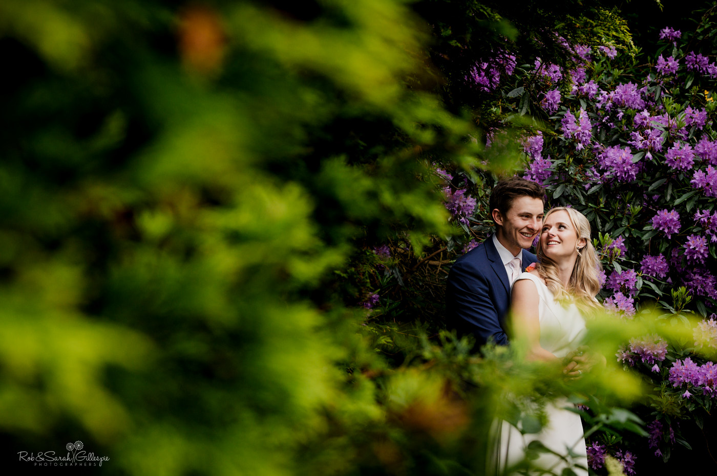 Wedding couple photos in Belbroughon, Worcestershire